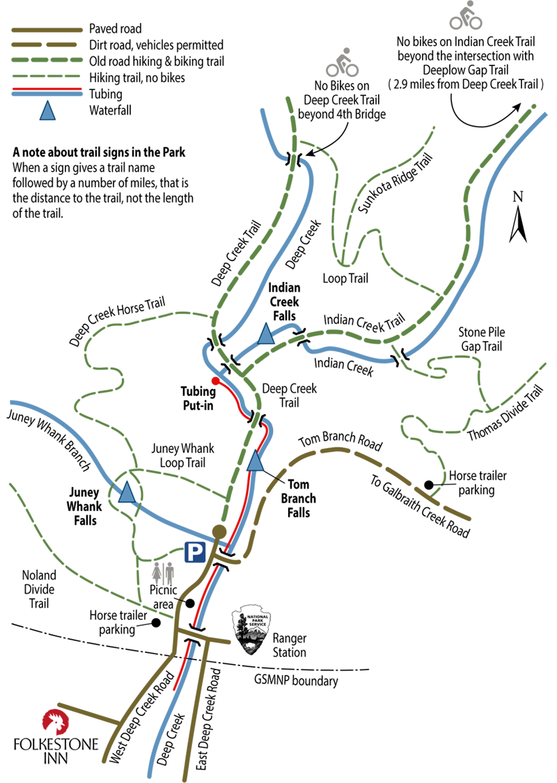 Deep Creek Map