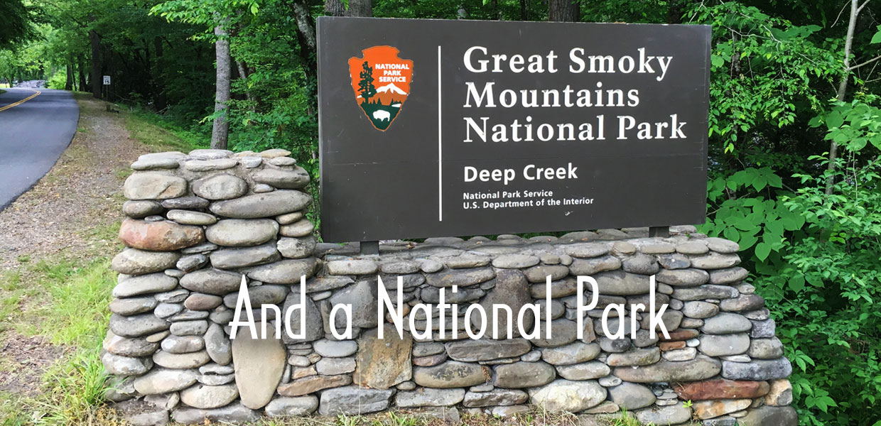 entrance to National Park